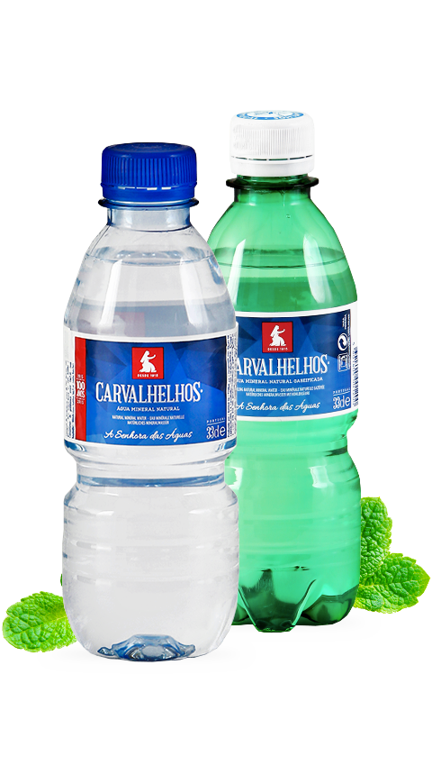 Águas Caravalhelhos, Água Mineral Natural, Água Mineral Natural Gaseificada